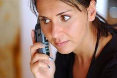 Anrufen der Frauen stockbilder