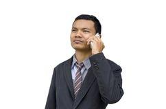 Anrufen des Geschäftsmannes Lizenzfreie Stockfotos