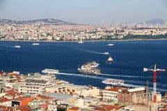 Ans красивый Стамбул крыши стоковая фотография rf