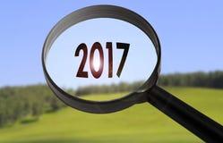 2017 ans Photographie stock libre de droits