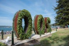 200 ans : Crique royale de jardin botanique et de ferme Image libre de droits