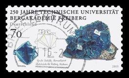 250 ans d'université de Freiberg de l'exploitation et de la technologie Photographie stock