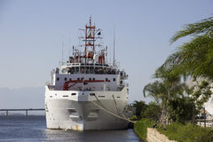 100 ans de l'académie des sciences brésilienne - bateau de la Marine Photographie stock