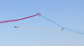 60 ANS Patrouille de Γαλλία στοκ εικόνα με δικαίωμα ελεύθερης χρήσης