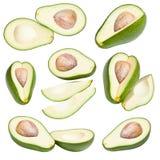Ansammlung Avocados Lizenzfreies Stockbild