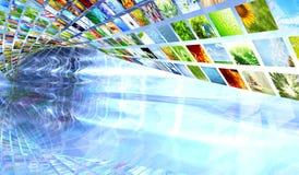 Ansammlung Bilder Stockfotografie
