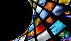 Ansammlung Bilder Lizenzfreie Stockfotografie