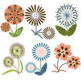 Ansammlung Blumen Lizenzfreies Stockbild