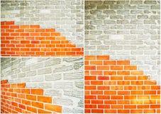 Ansammlung der Backsteinmauer Lizenzfreies Stockbild