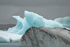 Ansammlung Eisberge Stockbilder