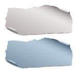 Ansammlung Farbe zerrissene Papierstücke Lizenzfreies Stockfoto