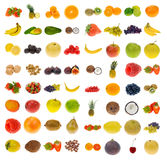 Ansammlung Frucht und Muttern Lizenzfreie Stockbilder