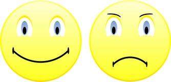 Ansammlung Lächeln. Vektorabbildung. Stockfotografie