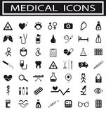 Ansammlung medizinische Ikonen Lizenzfreie Stockfotografie