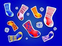 Ansammlung Socken vektor abbildung