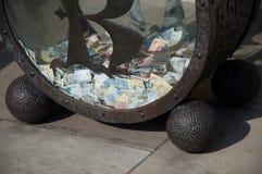 Ansammlung verschiedenes Geld Lizenzfreie Stockfotografie