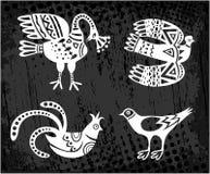 Ansammlung Vögel Vektor Lizenzfreie Stockfotografie