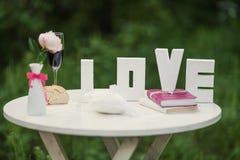 Ansammlung von 9 eleganten nahtlosen Mustern auf dem Thema von Romance und von Liebe Stockfoto