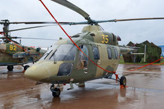 Ansat轻的直升机 免版税图库摄影
