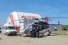 Ansat直升机 库存照片