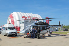 Ansat helicopter Stock Photos