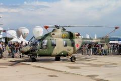 ansat som kan användas till mycket för helikopter för Dubbel-motor ljus gasturbin Royaltyfri Fotografi