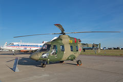 Ansat-U直升机 库存图片