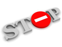 Anschlag Lizenzfreies Stockfoto