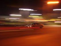 Anschlag von einem vorbeifahrenden Auto aus Lizenzfreie Stockbilder