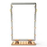 Anschlagtafel, 3D Stockfotos