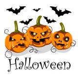 Anschlagtafel-Halloween-Parteientwurf Vektorillustration stock abbildung