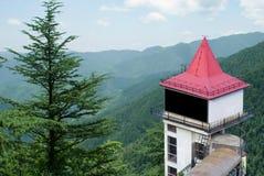 Anschlagtafel im Himalaja Stockbild