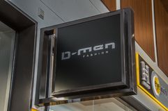 Anschlagtafel von den D-Männern bei Diemen niederländische 2018 Stockbild