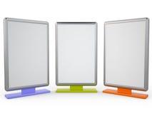 Anschlagtafeln, 3D Stockbilder