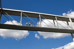 Anschließenbrücke stockfotos