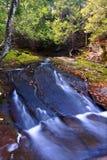 Anschluss-Fluss-Schlucht Michigan Stockbild