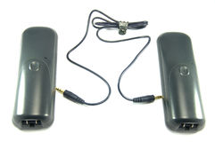 Anschluss zwischen zwei Radiophones Lizenzfreies Stockbild