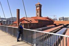 Anschlussstation Portland Oregon Lizenzfreies Stockfoto