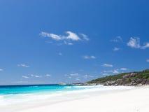 Anse Λάτσιο με την καθαρή άμμο Στοκ Εικόνες