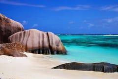 anse argent όμορφη πηγή βράχου δ Στοκ φωτογραφίες με δικαίωμα ελεύθερης χρήσης