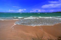 anse beach de Λουκία sables Άγιος Στοκ φωτογραφία με δικαίωμα ελεύθερης χρήσης