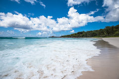 Anse Coco tropical beach, La Digue island, Seychelles Stock Photography
