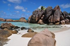 Anse Cocos Royalty Free Stock Photos