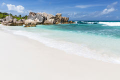 Anse Cocos, La Digue, Seychelles Royalty Free Stock Images
