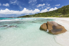 Anse Cocos, La Digue, Seychelles Stock Photography