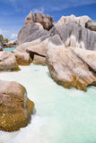Anse Cocos, La Digue, Seychelles Stock Images