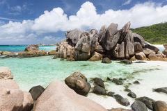 Anse Cocos, La Digue, Seychelles Stock Photo