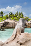 Anse Cocos, La Digue, Seychelles Royalty Free Stock Photography