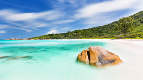 Anse Cocos Long Exposure, Seychelles Stock Photos