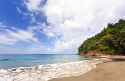 Anse Couleuvre Beach, Martinique, Caribbean Stock Images